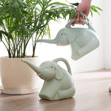 Three Colors Plastic Garden Elephant Watering Can Gardening Tools Plant Flower Pot Outdoor Irrigation Garden Watering Pots(China)