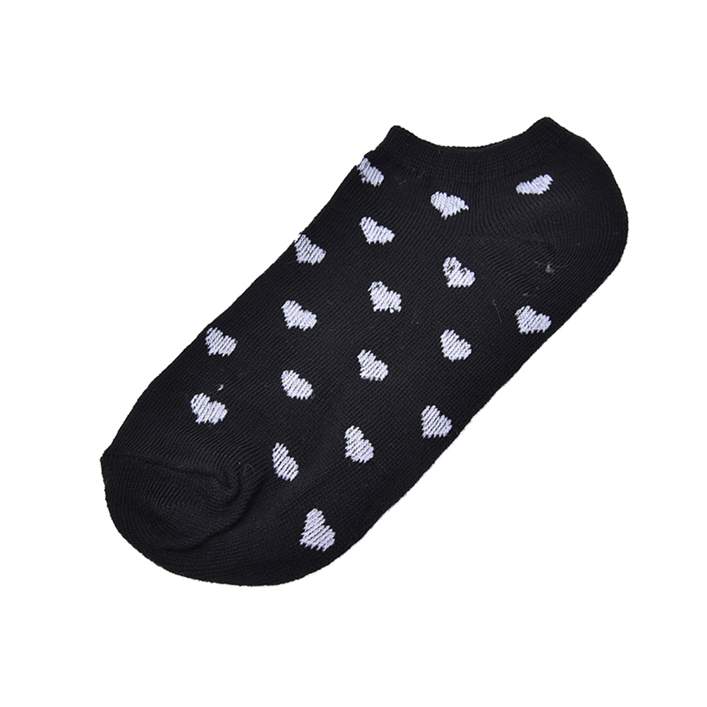 HTB11qZ1OpXXXXXsaXXXq6xXFXXX9 - 5 Pairs Heart Dot Solid Girl Female Lady Socks For Women's Socks