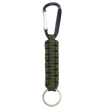 Safety Survival Gear Tactical Military Strand Cord Parachute Rope Keyring Carabiner Kits Lanyard Keychain Outdoor Tools Random 6