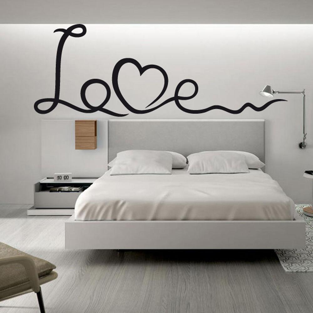 Vinilo pared decorativo love wall stickers love words for Vinilos pared aliexpress