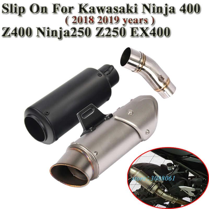 Slip On For Kawasaki Ninja 400 Ninja 250 Z400 Z250 EX400