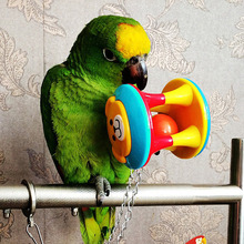 3 styles High Quality Pet Bird Bites Toy Parrot Chew Ball Swing Cage Hanging Cockatiel