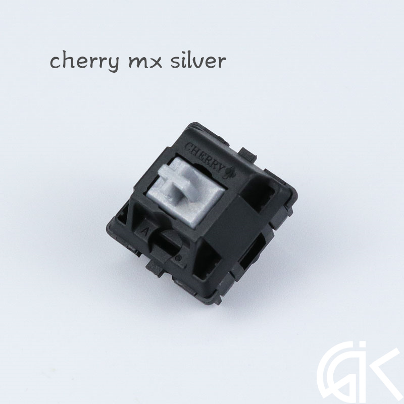Mechanical Keyboard DIY Kit Original Cherry Mx Speed Switch For  Game Keyboard Mx Silver 3 Pin