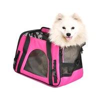 Pet Carrier Hond Zak Designer Hond Draagtassen voor Puppy Medium Hond Transport Bag Carriers voor Katten Huisdier Zak