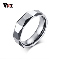 Vnox Tungsten Carbide Wedding Rings For Men Exclusive Rhombus Rings Engagement Male Jewelry