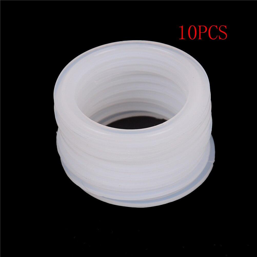 10 pièces Silicone Bande D'étanchéité Joint Bague Rondelle Pour Homebrew Produit Laitier Ajustement 51mm Tuyau x 64mm O/D Sanitaire 2 Tri Clamp