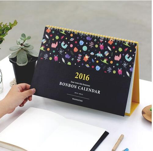 Nice Calendar Design : Aliexpress buy kawaii cartoon design sprial