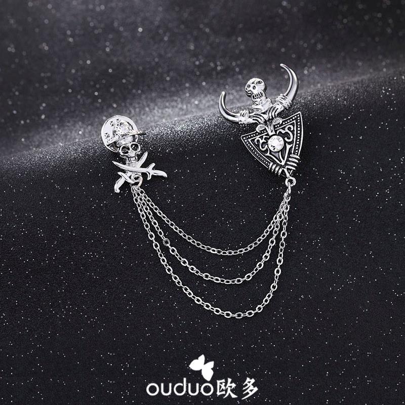 6Pc Conjunto de Diamante Hijab Pin Clips perlas de Pines Broche bufanda chal