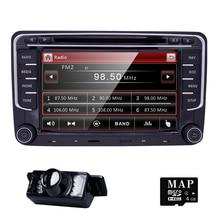Hizpo 2Din 7inch Car Radio For Volkswagen VW golf 6 touran passat B7 sharan Lavida polo with Navi GPS Card Car DVD Player BT CAM