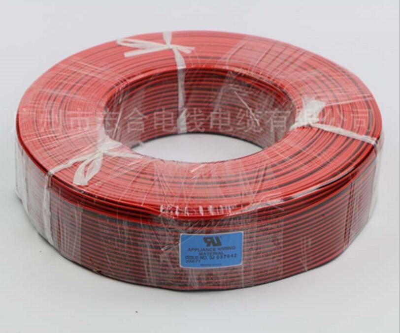 Fios Elétricos de cobre vermelho/preto ul2468 cabo Modelo Número : 2 Core
