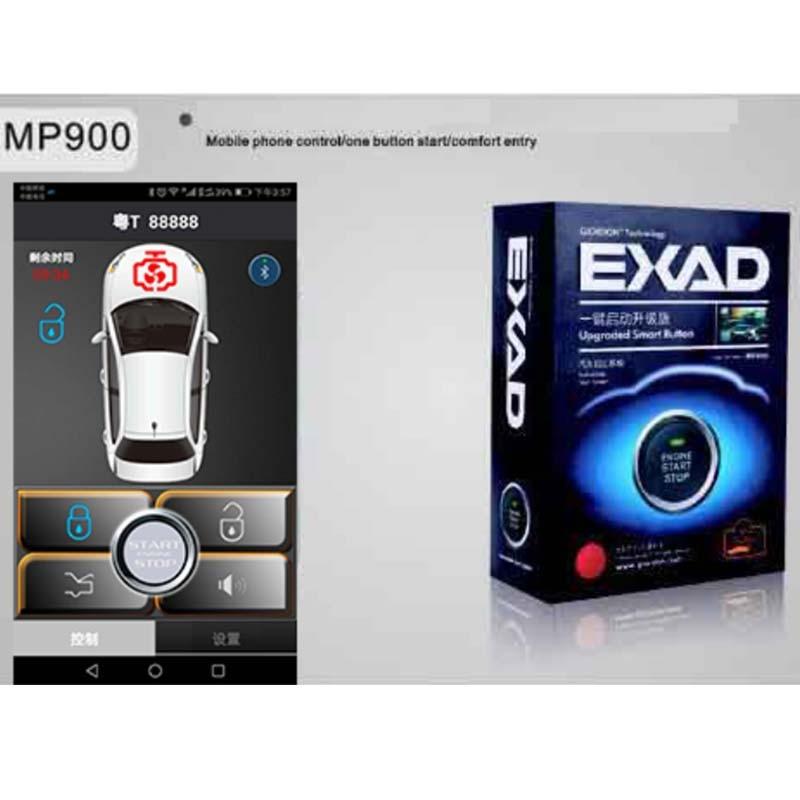 Phone Control PKE Smart Car Alarm System Passive Auto Lock Unlock Car Door Keyless push Remote