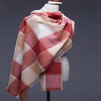 Winter Scarf Women 2017 100% Pure Wool Scarves & Wraps Shawl Cape Ladies Fashion Thicken Big Warm Scarves 200x70cm