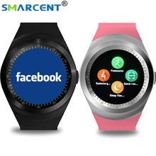 SMARCENT Y1 Bluetooth Smart watch for Android Phone Wristwatch Intelligent Clock wearable devices Sport Watch PK GT08 GV18 DZ09