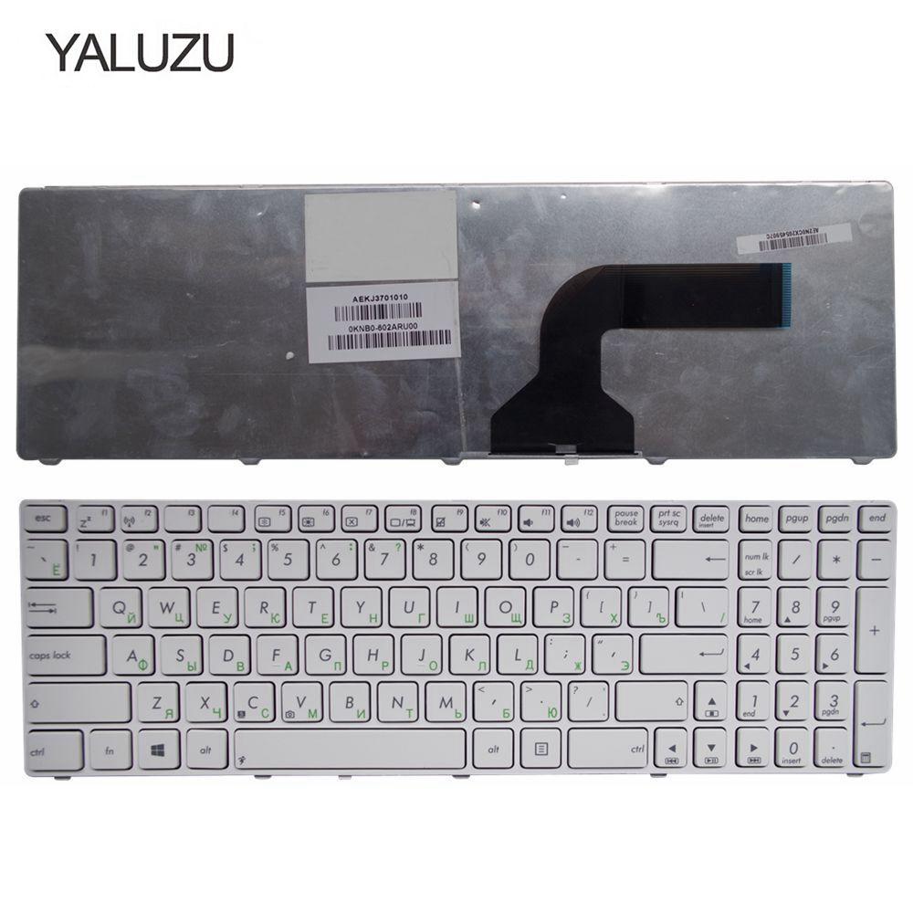 YALUZU Russian FOR ASUS G72 X53 X54H K53 A53 A52J K52N G51V G53 N53T X55VD N73S N73J P53S X53S X75V B53J UL50 RU Laptop Keyboard