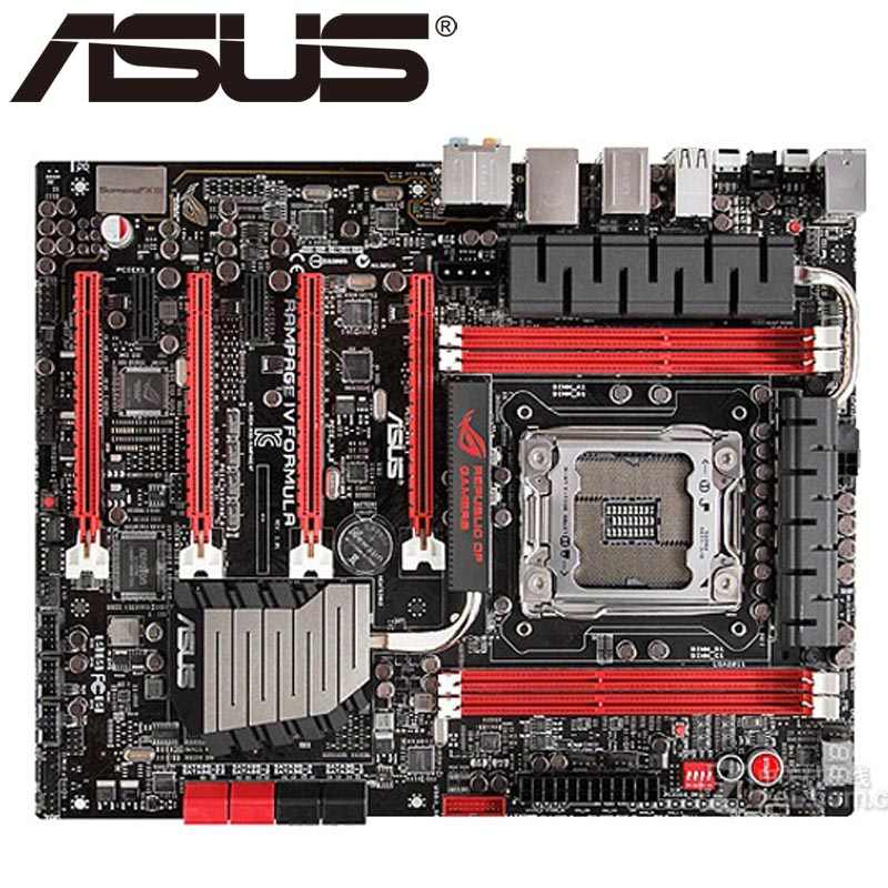 Asus Rampage IV Formula/BATTLEFIELD 3 Desktop Motherboard X79 Socket LGA 2011 Core i7 DDR3 64G ATX BIOS Original Used Mainboard