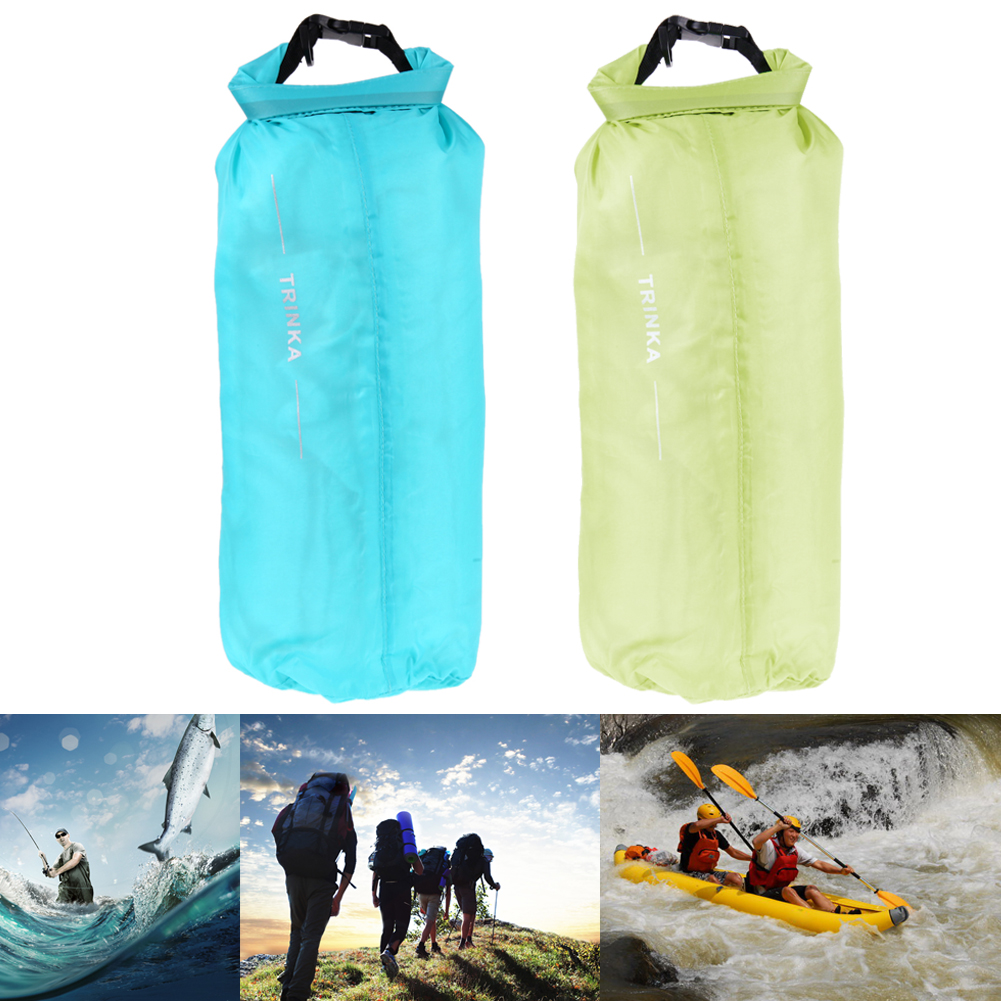 8L Waterproof Dry Bag Camping Hiking Canoe Swimming Storage Backpack Soft Outdoor Pouch Bag Food Clothes Storage Dry Pouch