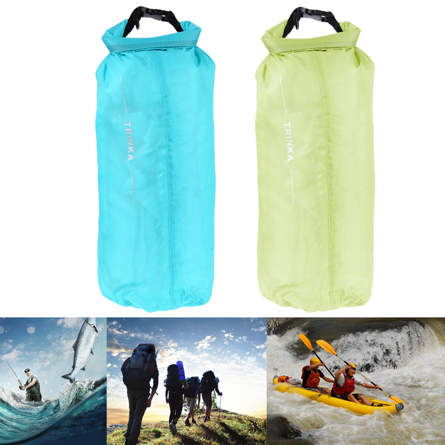 2a637f0e522c 8L Waterproof Dry Bag Camping Hiking Canoe Swimming Storage Backpack Soft Outdoor  Pouch Bag Food Clothes