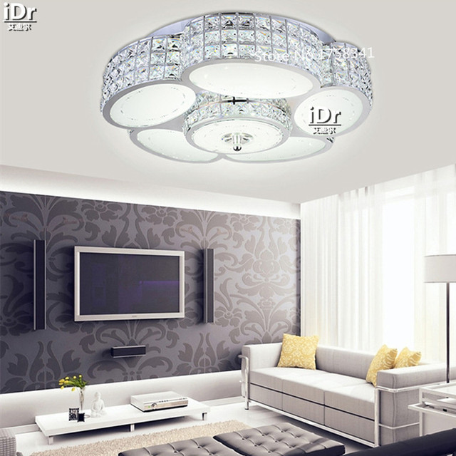 Eisen Lichter Lampen Led Licht Minimalistische Moderne Kristall Lampe  Wohnzimmer Schlafzimmer Kreative Deckenleuchten Hochwertigen Licht