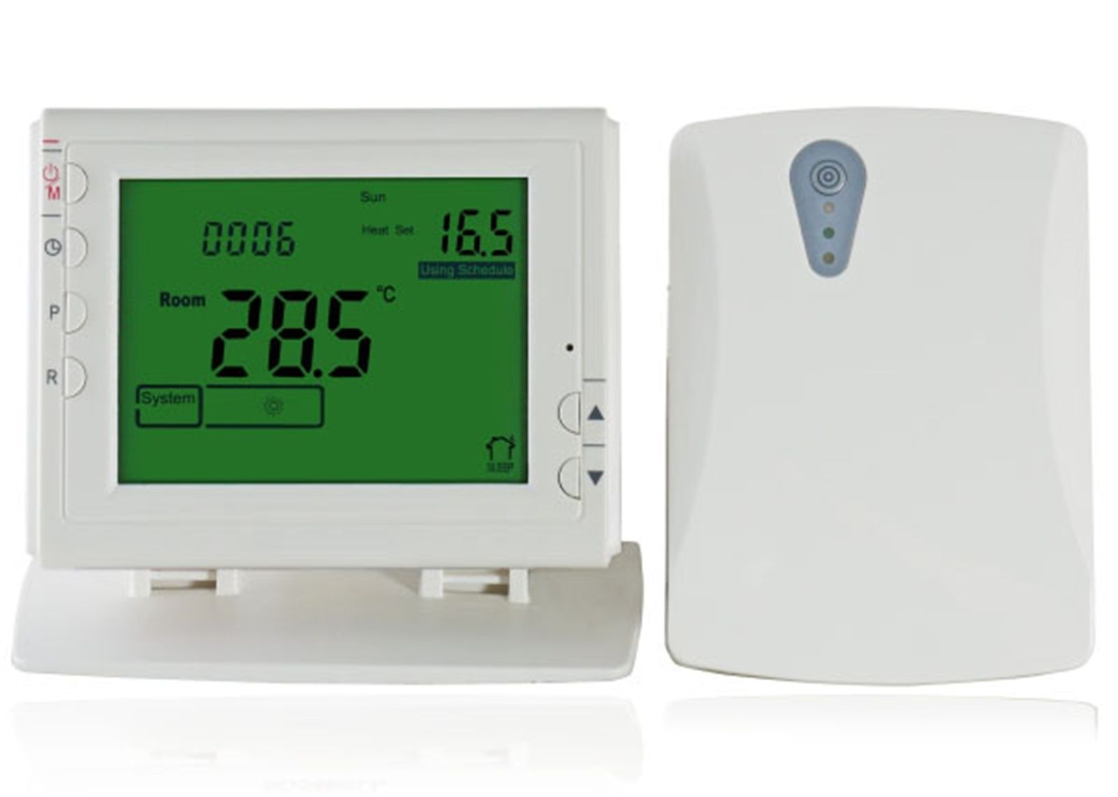 LCD Wireless Smart Programmable Thermostat For Heating System App Control
