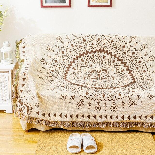 Bohemian Throw Blankets Gorgeous Coverlet On Bed Bohemian Cotton Throw Blanket Sofa TV Cover Thread