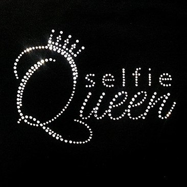627ba427de US $5.0 |2pc/lot Crown Selfie Queen hot fix patches appliques iron on  rhinestone crystal transfers design for dress shirt-in Rhinestones from  Home & ...