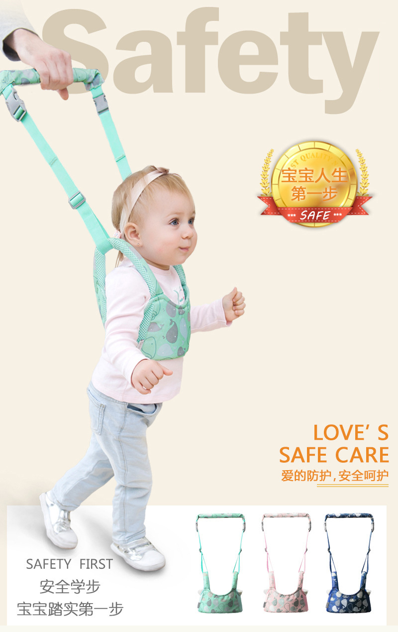 Ergonomic baby carrier Walker Harness Assistant Toddler Gear Leash soft  infant baby holder learning walk baby stuff first step 6251efa92