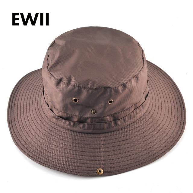 6e49a8722 US $5.99 42% OFF|2018 Fashion summer panama bucket hats for men fishing sun  hat women flat wide brim caps men bob beach cap chapeau femme-in Bucket ...