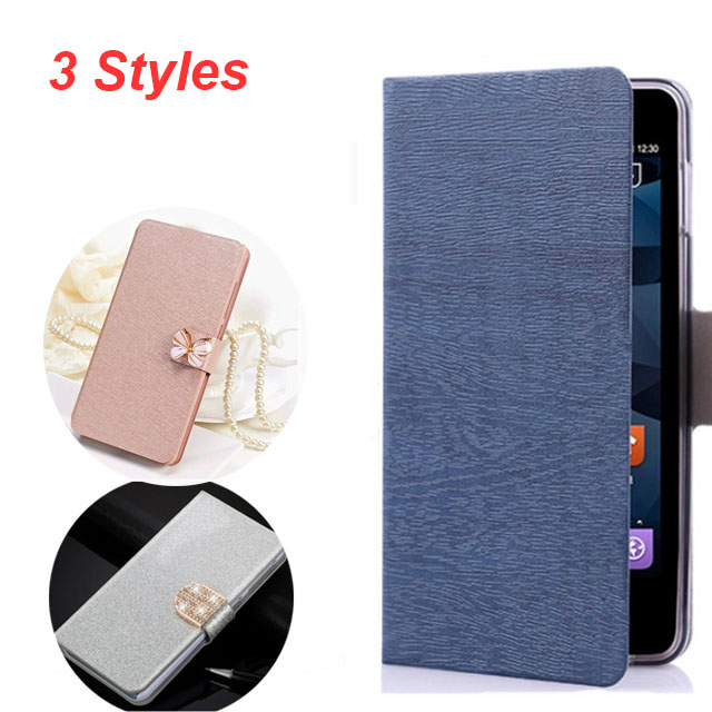 (3 Styles) Mobile Cases For LG K5 LG-X220DS Dual Book Flip Cover For LG K5 Wallet Card Slots Silicon Back Case With Card Slot