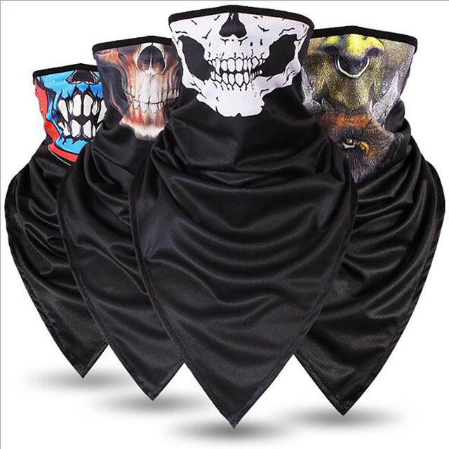 Half-face Triangular Skull Mask