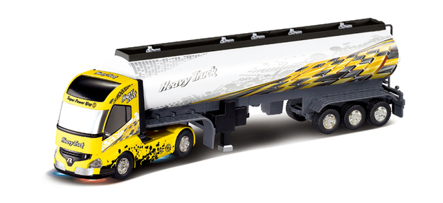 Remote Control Big Size Detachable 1:32 6CH R/C Container Truck Toy With