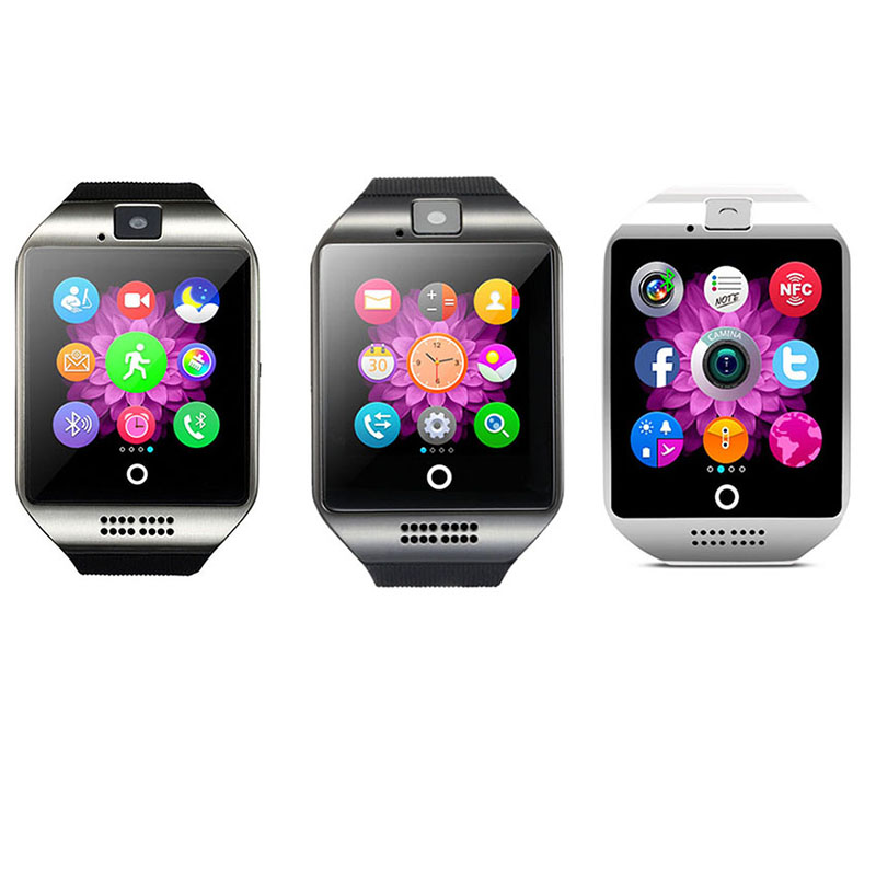 Smart Watch Android  LED Q18  Wrist Watch Smart Electronics  Smartwatch Support Health Monitor   LSB01088
