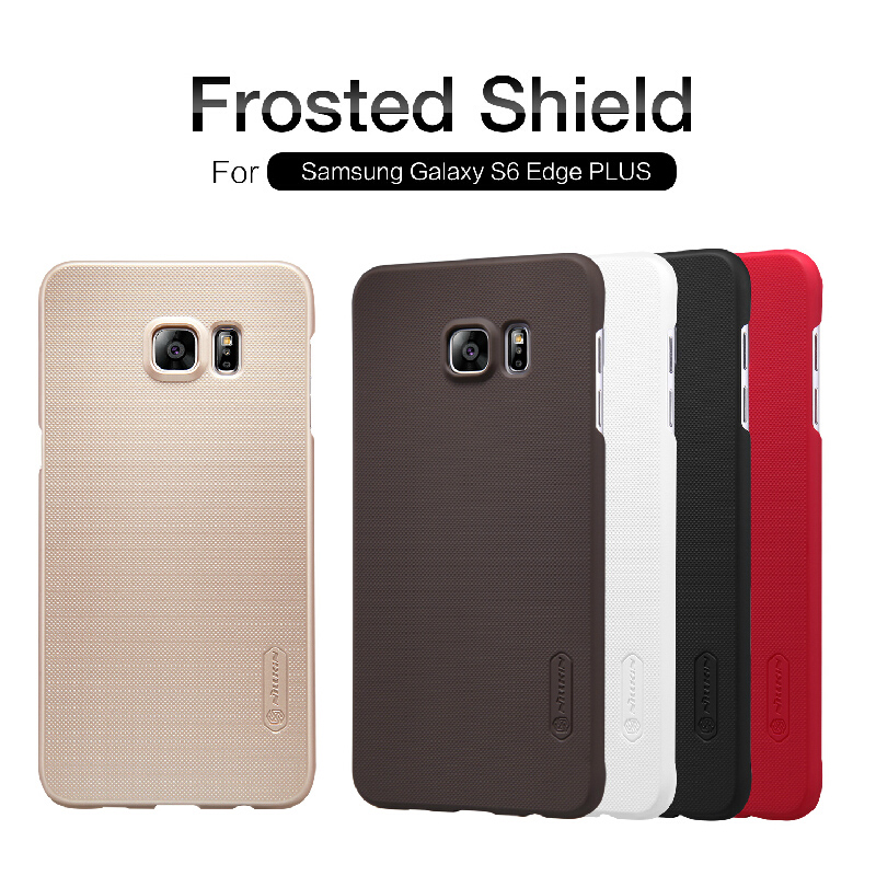 Nillkin for samsung galaxy s6 edge plus case Super Frosted Shield Case for galaxy s6 edge