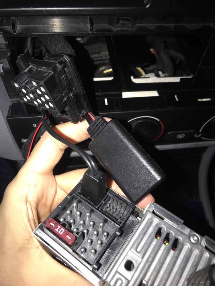 Car BT Module for BMW E39 E46 E53 Business Head Units AUX Port Adapter
