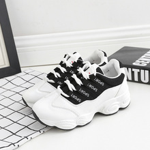 Outdoor casual sneakes woman running shoes 2019 new breathable comfortable white sports and lifestyle