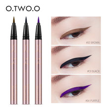 O.TWO.O liquid eyeliner waterproof Eyeliner Pen Professional Make up Eye Liner Pencil 24 Hours Long Lasting
