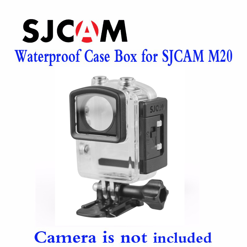 Free shipping!! Original Underwater Waterproof Case for Original M20 Diving 30M Waterproof extreme Helmet Cam Mini Camcorder DVR