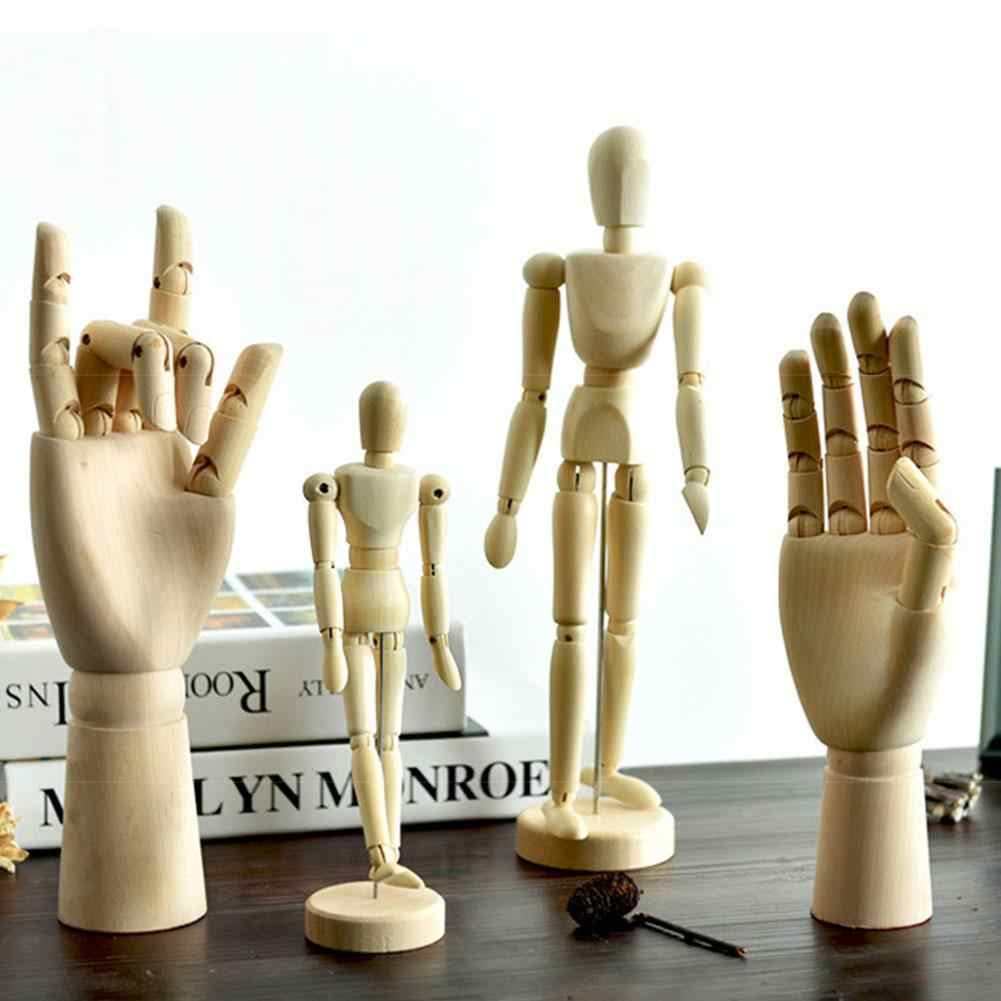 Drawing Hand Body Artist Model Movable Limbs Figure Mannequin Sketch Home Decor
