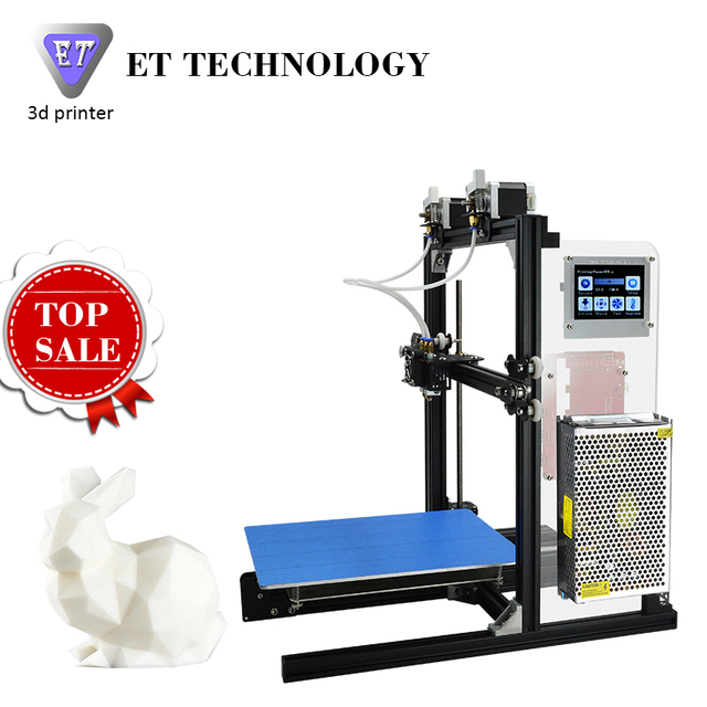 Build Your Own 3D Printer Home Use Cheap Price DIY ET I3 King Of All The