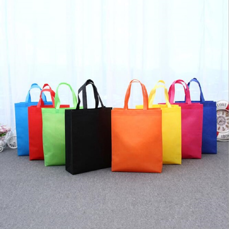 New Reusable Shopping Bag Foldable Tote Grocery Bag Large Capacity Non-Woven Travel Storage Eco Bags Women Shopping Handbag
