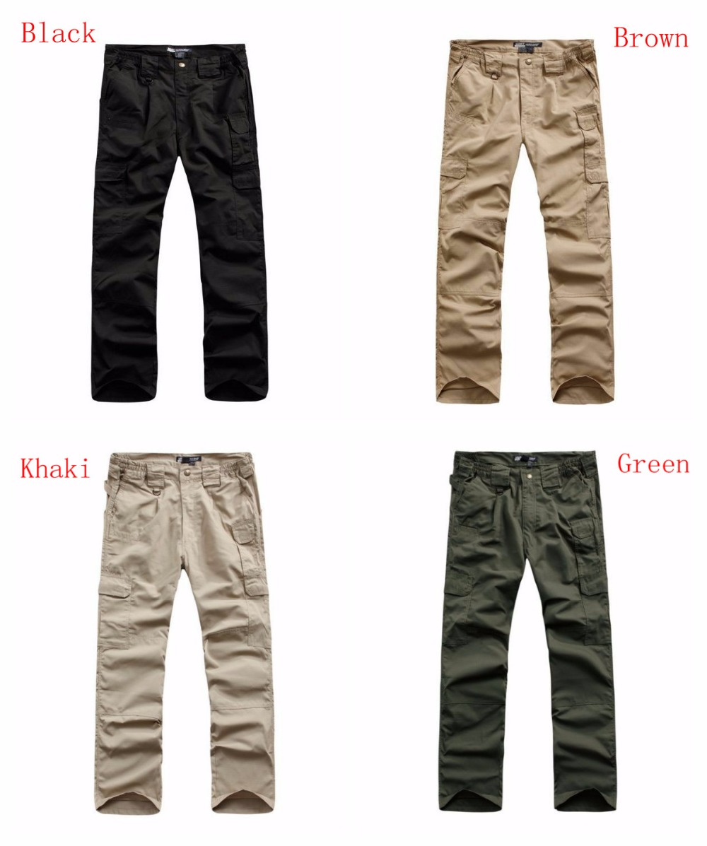 Mens Waterproof Ripstop Military Army Combat Long Pants Hunting CS Wargame Paintball Tactical Training Cargo Trousers / Pant ganyanr brand military tactical cargo outdoor long pants men army training cotton hunting hiking outdoors sports trousers solid