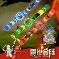 NUEVA Ninja Kai Lloyd Jay Edificable Reloj Hilado Batalla Top Regalo para Los Niños de Bloques de Construcción de Juguete Reloj Compatible con Legoe