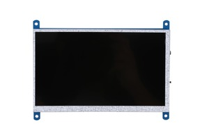 Image 3 - New 7 inch USB HDMI LCD Display Monitor 1024x600 Capacitive Touch Screen For Raspberry Pi 3 B+
