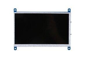 Image 3 - New 7 inch USB HDMI LCD Màn Hình Hiển Thị 1024x600 Điện Dung Màn Hình Cảm Ứng Cho Raspberry Pi 3 B +