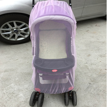 Baby Stroller Pushchair Mosquito Insect Shield Net Safe Infants Protection Mesh Stroller Accessories Mosquito Net 150cm 1