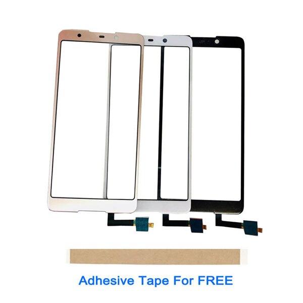 5.7 Inch For BQ BQ-5707G Next Music BQ 5707G BQ5707G Touch Screen Sensor Glass Digitizer Front White Black Gold With Tape