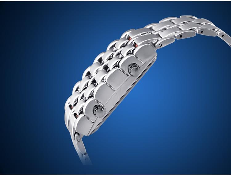Aidis youth sports watches waterproof electronic second generation binary LED digital men's watch alloy wrist strap watch 32