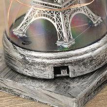 ¡Oferta! Lámpara de mesa de torre de luz LED de cristal de arena Vintage adornos para el hogar PLD