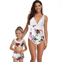 Mother Daughter Twinning Swimsuits