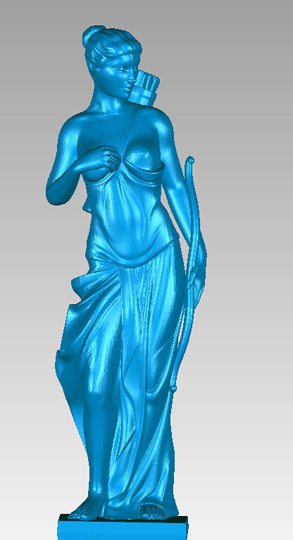 New 3D Model For Cnc 3D Carved Figure Sculpture Machine In STL File Format Western Culture, Naked Women-13
