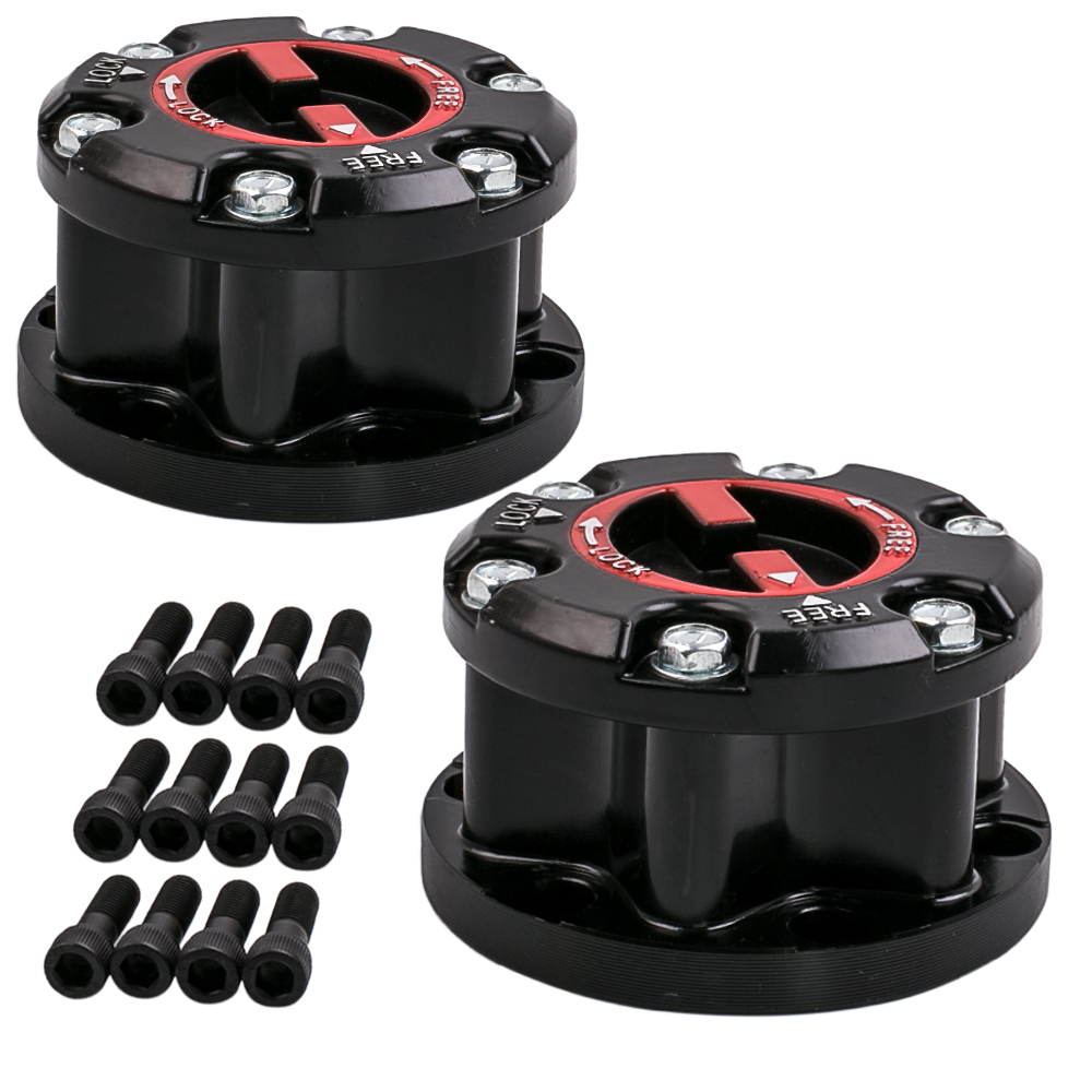 2PCS 17 Spline Free Wheeling Hubs Set For Isuzu Trooper D-max Holden TF Rodeo KB2500 Hub Locking 8-97113446-PT